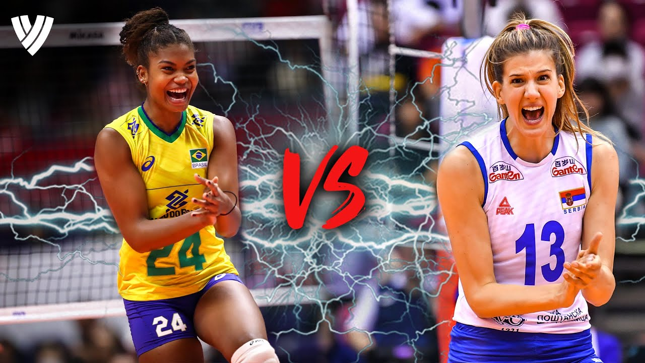 Lorenne 🇧🇷 vs. Bjelica 🇷🇸  - Who is the best Opposite ever??? | Highlights Volleyball World | HD