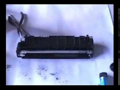 Hướng dẫn thay mực máy in Máy Canon 2900 3000 Máy văn phòng