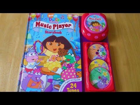 Dora the Explorer Music Player Storybook