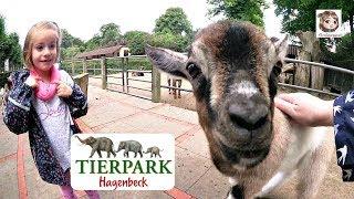 AUSFLUG IN DEN ZOO 🐘 Mama wird fast aufgefressen 😱 und Hannah fährt Auto | Tierpark Hagenbeck