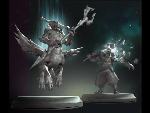 видео: Героические статуи Дота 2 (Создания)