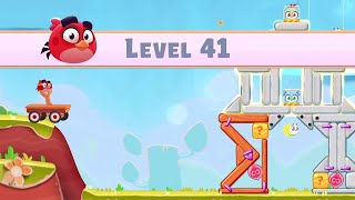 Angry Birds Casual Walkthough Level 41-50 (iOS Android Gameplay)
