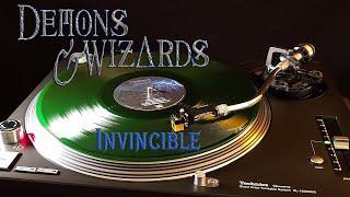 Demons & Wizards - Invincible - Transparent Green Vinyl LP
