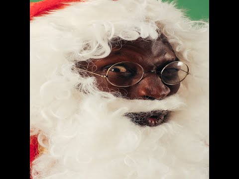 MERRY XMAS FROM BLACK SANTA - If I Looked Like This Would You Still Want Your Gift? Comedy