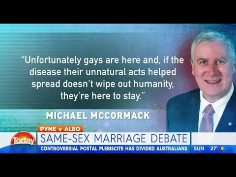 ABS Minister Michael McCormack's homophobic views from 1993 revealed