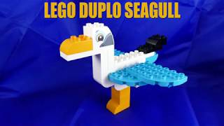 LEGO DUPLO Seagull with Tutorial