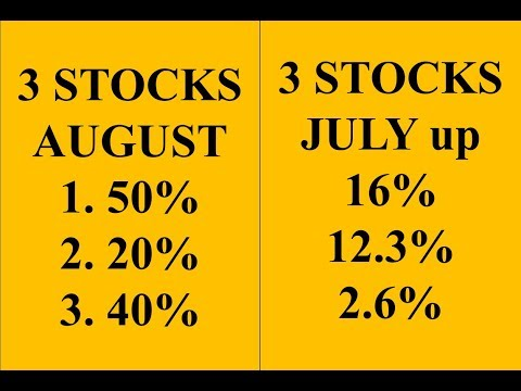 3 stocks I'm buying now - August 2017