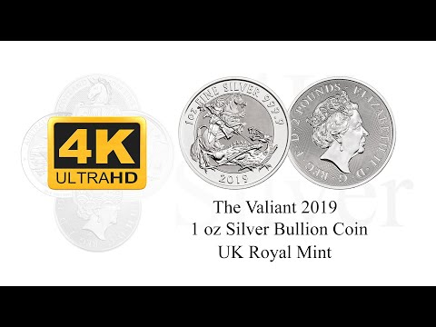 The Valiant 2019 1 oz Silver Coin - Royal Mint - St. George's Day