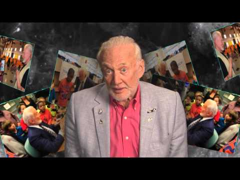 Apollo 11 Buzz Aldrin Shares Space through his new educational foundation