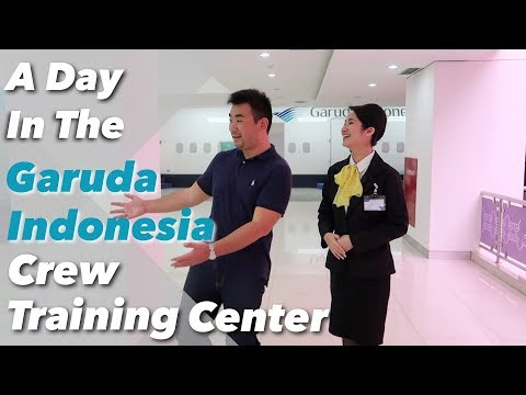 A Day in the Garuda Indonesia Crew Training Centre