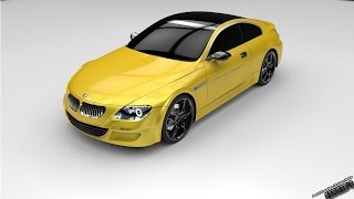 Solidworks Tutorial  14 BMW M6 with Solidworks part 01 23