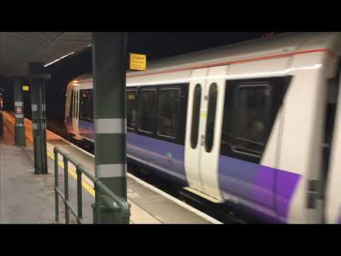 New Crossrail Class 345 (Unit 345010) departing Stratford on October 10th 2017