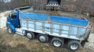 Excavator Loading Mud