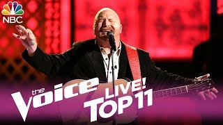 """The Voice 2017 Red Marlow - Top 11: """"The Dance"""""""