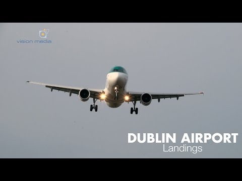 Dublin Airport Crosswind Landings