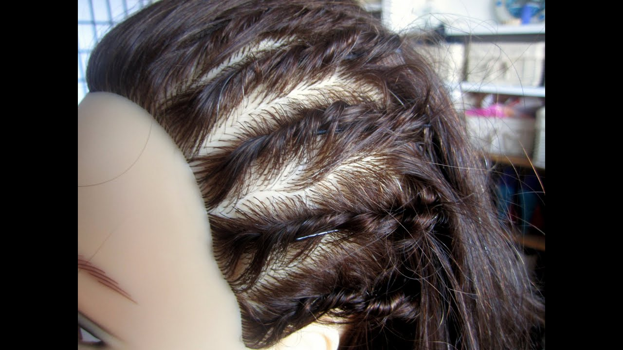 French Twist Faux Cornrows Back To School Hairstyles