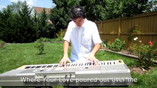 Hillsong Live - Man of Sorrows (HD Studio Piano Cover with LYRICS) - Joshua Tran
