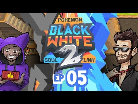 "Pokémon Black 2 & White 2 Soul Link Randomized Nuzlocke w/ ShadyPenguinn! - Ep 5 ""THE FIRST GYM!!"""
