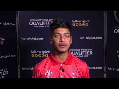 Nepalese players speak about historic win against Canada