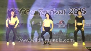 5 feet from India perform K Pop : Mamma Mia by KARA