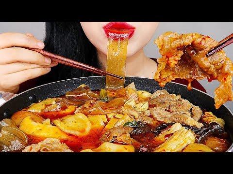 ASMR SPICY HOT POT 마라탕 먹방 *CHINESE FOOD MALATANG* MUKBANG KOREAN
