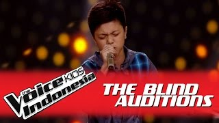 "Gaizzka ""Panah Asmara"" I The Blind Auditions I The Voice Kids Indonesia GlobalTV 2016"