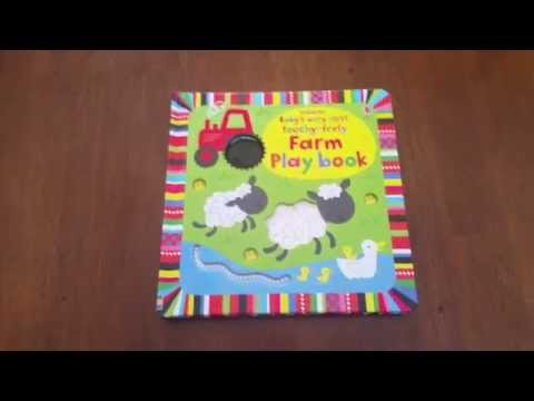 Baby's Very First Touchy-Feely Farm Playbook: Usborne Books and More