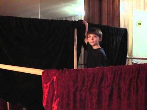 Curtains for the Puppet Stage