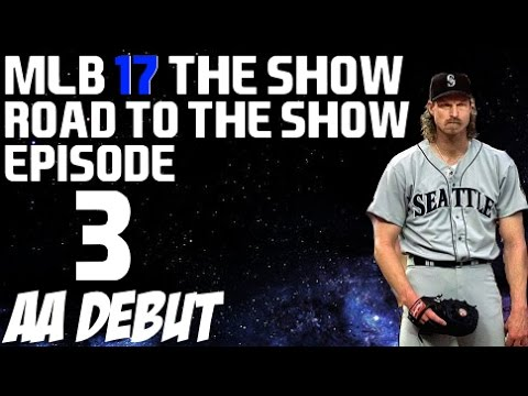 MLB 17 The Show {PS4} - Randy Johnson Road to the Show - AA Debut!