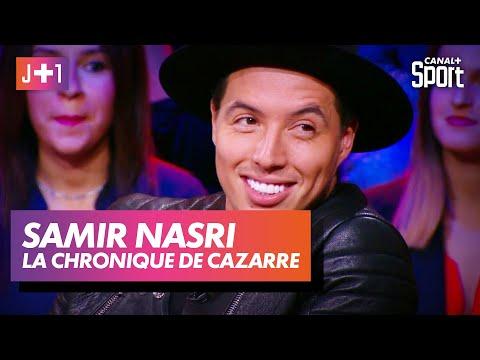 Julien Cazarre avec Samir Nasri