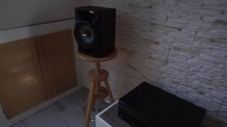 Sony Mhc Ecl77bt Full Volume !! //Amazing woofer action!