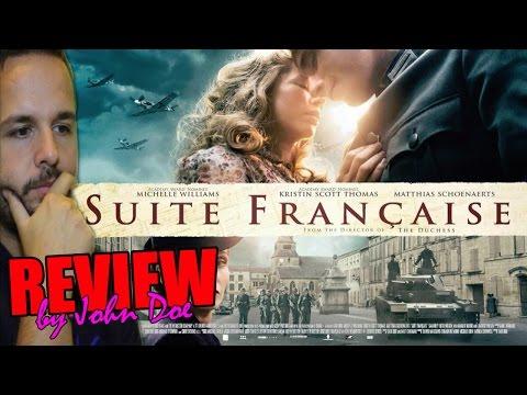Suite francesa (2015) - REVIEW - CRÍTICA - HD - Suite Française - Saul Dibb -  Irène Némirowsky