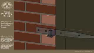 Installing Shutters on Brick with Pintels