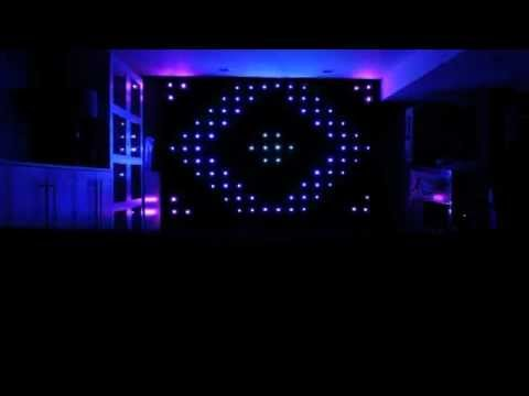 Kid DJ Gear Demo: Chauvet Motion Drape LED - YouTube