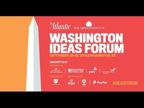 Secretary Ernest Moniz / Washington Ideas Forum