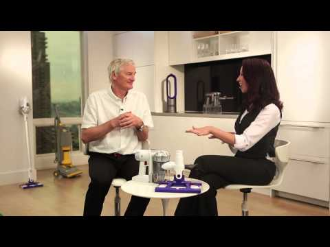 "James Dyson HSN Interview on the ""Dyson Hard"" DC56"