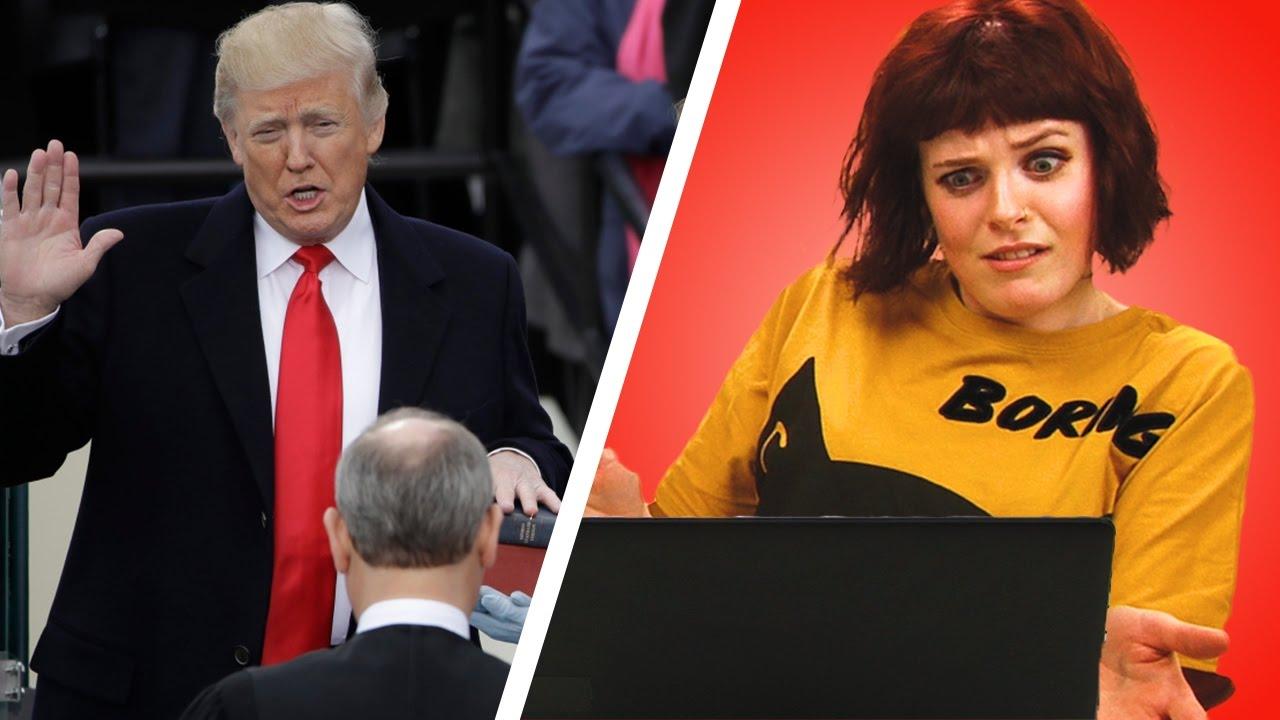 Irish People React To Donald Trump's Inauguration Ceremony ...