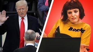 Irish People React To Donald Trump's Inauguration Ceremony