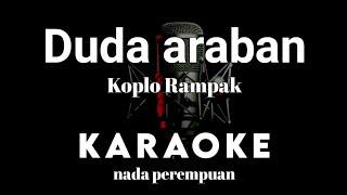 DUDA ARABAN Karaoke Tanpa Vokal versi koplo rampak