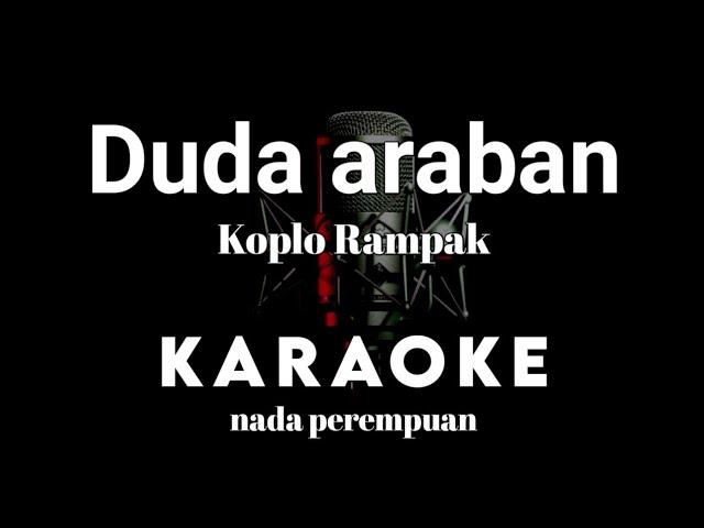 Duda Araban Karaoke Tanpa Vokal Versi Koplo Rampak Youtube