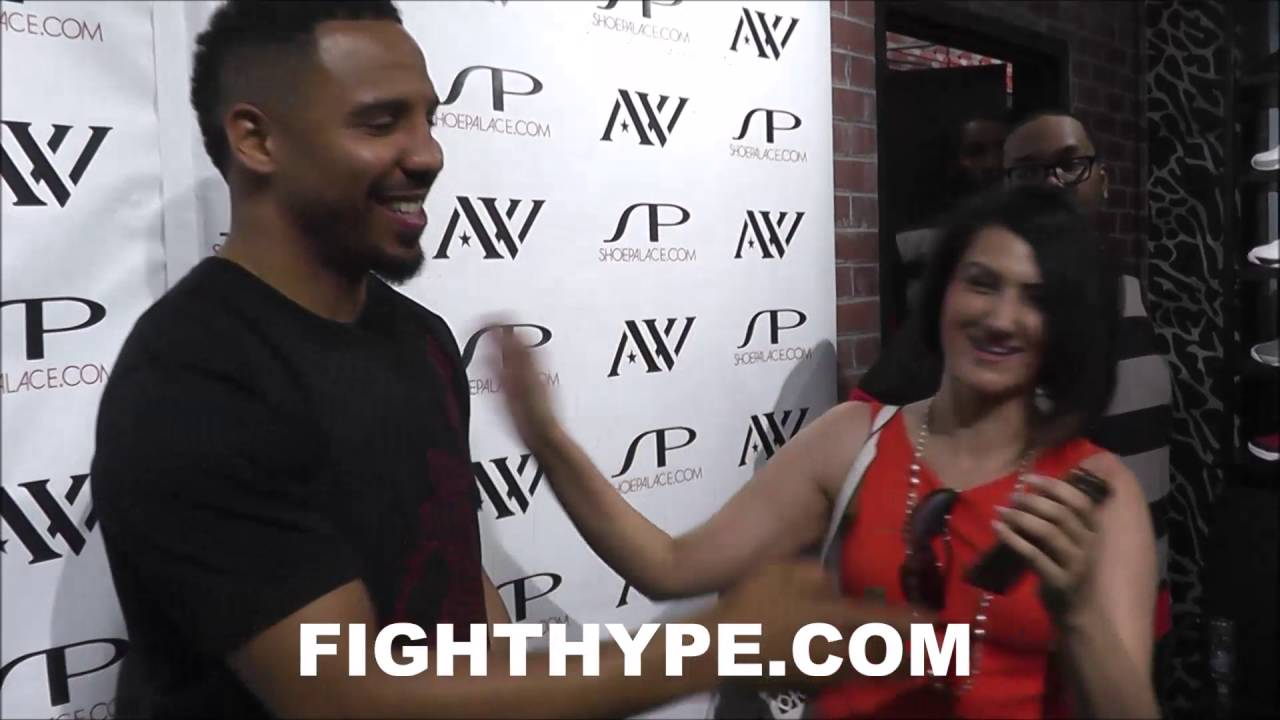Andre Ward Behind The Scenes Exclusive At Shoe Palace Meet And Greet