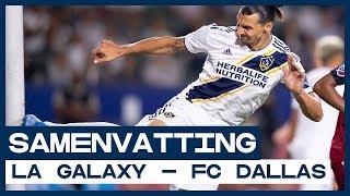Held Zlatan Ibrahimović schiet LA Galaxy langs FC Dallas