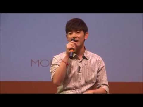 Eric Nam 에릭남 at MOI'M Inception: Eric's Story and 'Heaven's Door' (천국의 문) 150912 091215