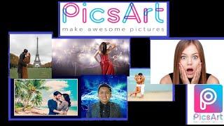 La mejor aplicación para hacer foto montaje Pro   PicsArt