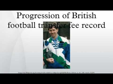 Progression of British football transfer fee record
