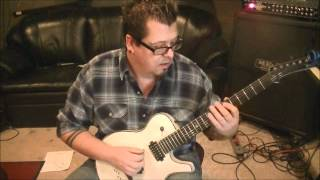 How to play YYZ by Rush on guitar by Mike Gross