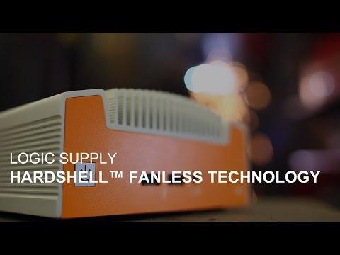 Смотреть Logic Supply Hardshell Fanless Technology онлайн