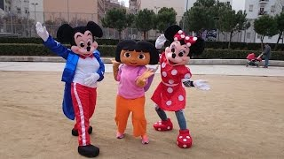 dora, mickey y minnie salen a divertirse thumbnail