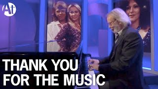 ABBA Benny Andersson - Thank You For The Music live on BBC The One Show