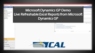 How to Use Live Excel Reports in Microsoft Dynamics GP